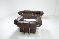 BOXX Set Leather Sofa2+ armchair