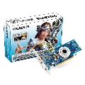 Placa video Gigabyte nVidia GeForce Cuda 8400GS, 512Mb, DDR2 64biti, PCI-E, Fan