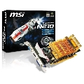 Placa video MSI nVidia GeForce G210, 512MB, DDR2, 64bit, PCI-E
