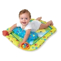 Spatiu de joaca, Tiny Turtle &Friends � Prop&Play Mat, Bright Starts
